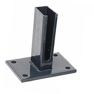 Dübelplatte Standard RAL 7016/anthrazit anthrazit