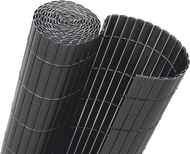 Sichtschutzmatte Guck Nich Bambus Style 3m x 1,00m | RAL 7016