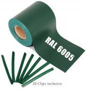 Guck Nich für Doppelstabmatten RAL 6005 grün | 35m ( 7m²)