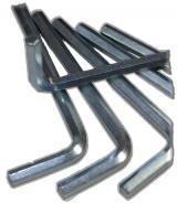 Sechtskant Schlüssel für Sicherheitsschrauben 5,5mm