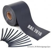 Rolle 65m anthrazit RAL 7016 anthrazit | 65m ( 13m²)