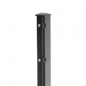 Zaunpfosten Typ 1 anthrazit RAL 7016 | 630 | Standard