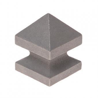 Schmiedekappe 60x60 Typ Do 60mm Stahl