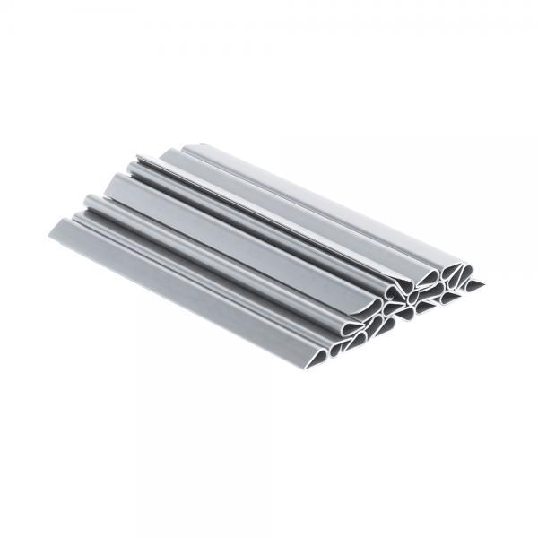 Guck Nich® Clip (25 Stück) fenstergrau RAL 7040