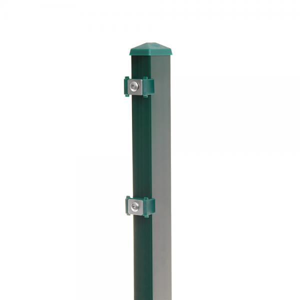 Zaunpfosten Typ 6 moosgrün RAL 6005 | 1630  | Standard