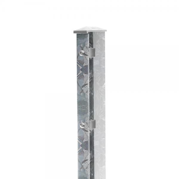 Zaunpfosten Typ 1 - gekürzt feuerverzinkt | 630 | Standard