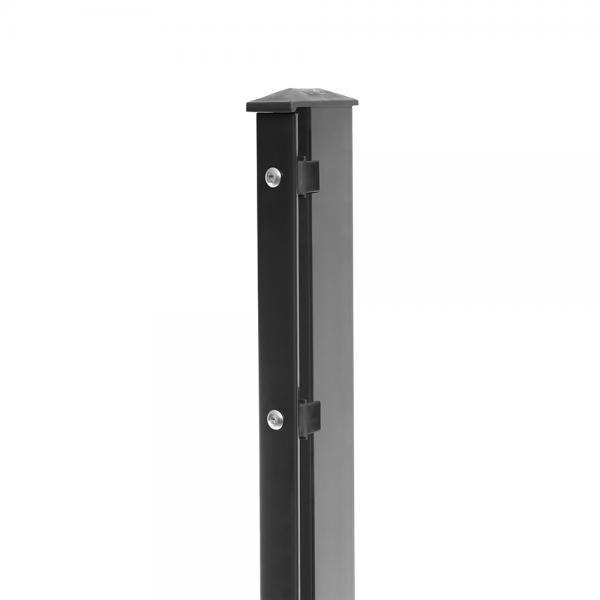 Zaunpfosten Typ 1 - gekürzt anthrazit RAL 7016   830   Standard