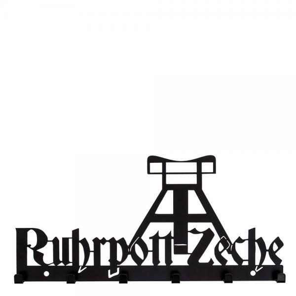 Schlüsselbrett Ruhrpott Zeche - schwarz