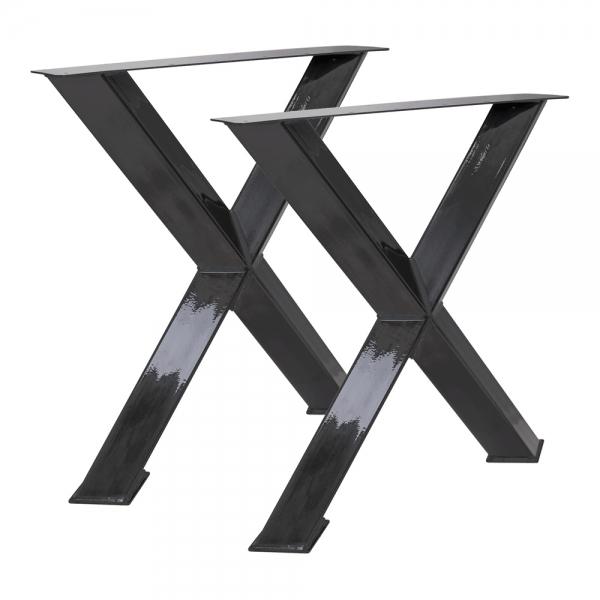 Tischgestell X 80/80 45°